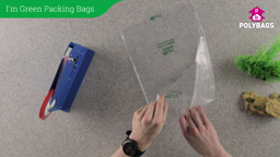 How to use I'm Green Clear Bags