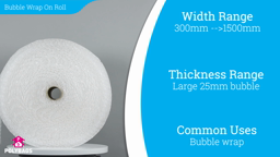 Watch a short video about our Large Diameter Bubble Rolls