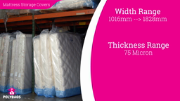 Watch a short video about our polythene Mattress Covers