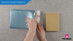How to use Metallic Bubble Mailers