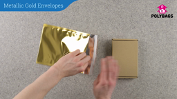 How to use Metalilc Gold Envelopes