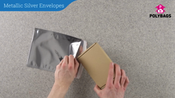 How to use Metallic Silver Envelopes