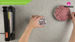 How to use Metallised Stand-Up Food Pouches