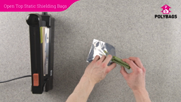 How to use Open Top Static Shielding Bags