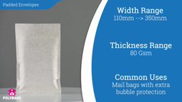 Watch a short video about our Featherpost 'Jiffy Style' Padded Mailers