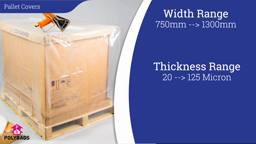 Watch a short video about our Shrink Pallet Covers
