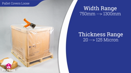 Watch a short video about our Pallet Covers Loose Boxed