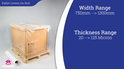 Watch a short video about our Pallet Covers On The Roll