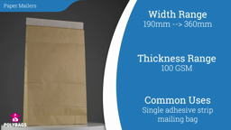 Watch a short video on Paper Mailers with Gusset