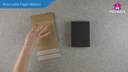 How to use Paper Mailers with Gusset - Double Strip