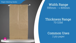 Watch a short video on Paper Mailers with Gusset - Extra Large