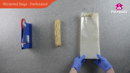 How to use perforated wicketed food bags