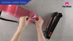 How to use Antistatic Layflat Tubing