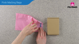 How to use Pink Mail Order Bags