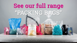 Watch a short video about our Packing Bags