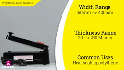 Watch a short video about our Polythene Impulse Heat Sealers