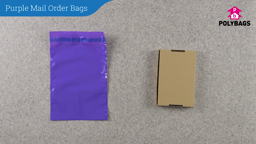 How to use Purple Mail Order Bags