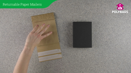 How to use Recyclable Paper Envelopes with Gusset - Double Strip