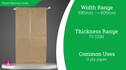 Watch a short video on Recyclable Paper Envelopes with Gusset - Extra Large