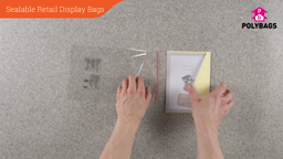 How to use Sealable Retail Display Bags