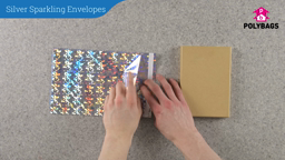 How to use Silver Sparkling Envelopes