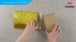 How to use Sparkling Bubble Mailing Bags