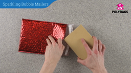 How to use Sparkling Bubble Mailers
