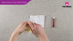 How to use Specimen Grip Seal Bags