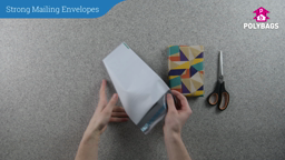 How to use strong opaque plastic mailing envelopes