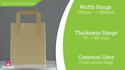 Watch a short video about our Brown Take Away Carriers