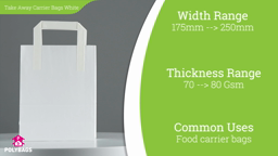 Watch a short video about our White Take Away Carriers