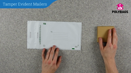 How to use Tamper Evident Mailers