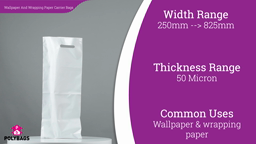 Watch a short video about our Wallpaper and Wrapping Paper Roll Carrier bags