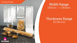 Watch a short video about our Wicketed Bags