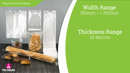 Watch a short video about our Wicketed Food Bags